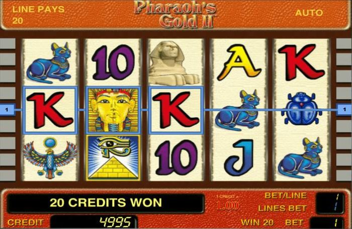 Как найти и скачать сокровища египетских фараонов в онлайн-казино Вулкан вместе с бесплатным игровым автоматом «Pharaoh's Gold 2»